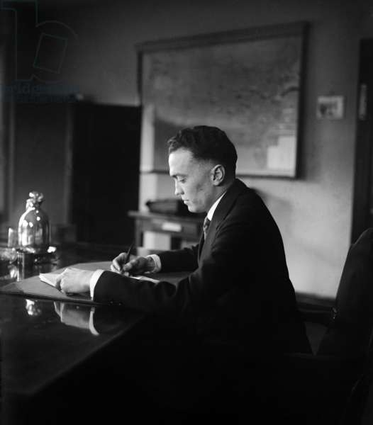 J. Edgar Hoover: J. Edgar Hoover (1895-1972), as director of the Bureau of Investigation in 1924. Under his leadership the Bureau became the FBI in 1935, which he headed until his death in 1972. Photo taken Dec. 22, 1924.
