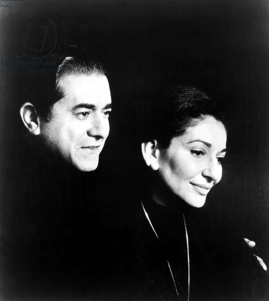 Giuseppe Di Stefano and Maria Callas, 1970s