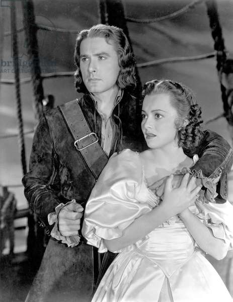 Captaine Blood: CAPTAIN BLOOD, Errol Flynn, Olivia De Havilland, 1935
