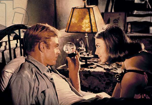 THIS PROPERTY IS CONDEMNED, Robert Redford, Natalie Wood, 1966
