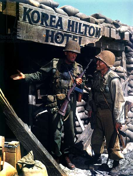 PORK CHOP HILL, Gregory Peck, George Shibata, 1959