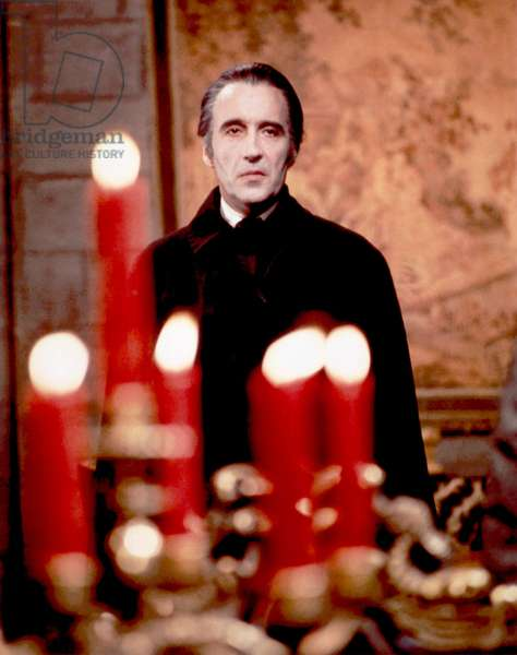 Les cicatrices de Dracula: SCARS OF DRACULA, Christopher Lee, 1970