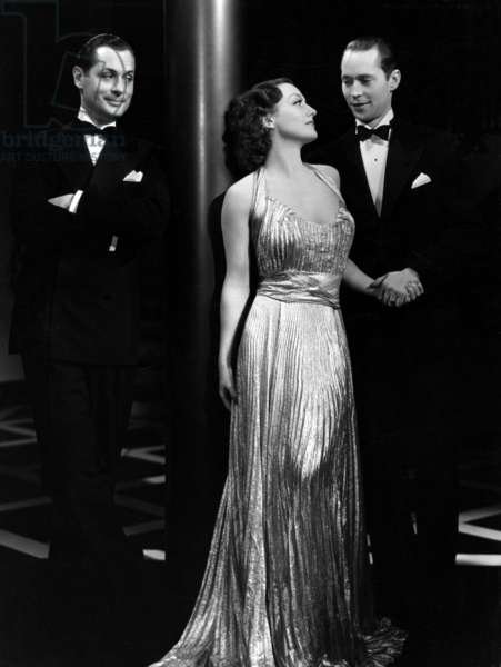 NO MORE LADIES, Robert Montgomery, Joan Crawford, Franchot Tone, 1935