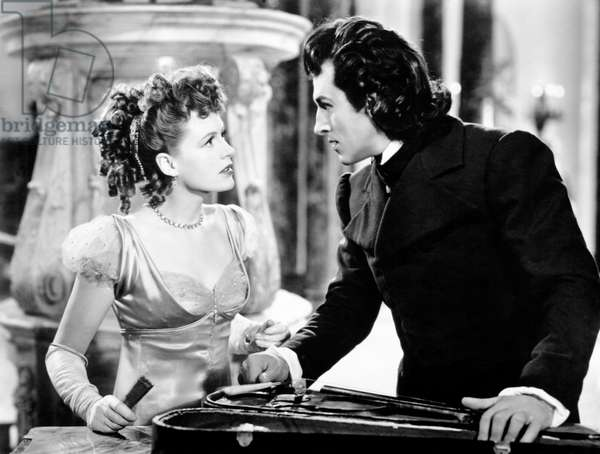 THE MAGIC BOW, from left, Jean Kent, Stewart Granger, 1946 (b/w photo)
