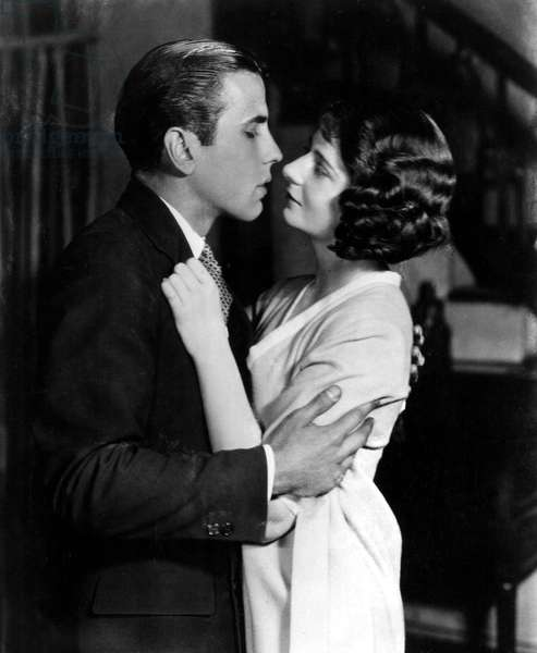 Humphrey Bogart, Helen Menken in a 1920s Broadway theater play