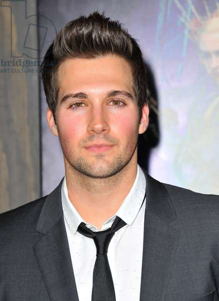 James Maslow at arrivals for THE HOBBIT: THE DESOLATION OF SMAUG Premiere, Dolby Theater, Los Angeles, CA December 2, 2013. Photo By: Dee Cercone/Everett Collection