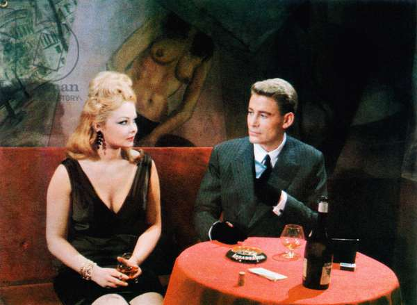 THE NIGHT OF THE GENERALS, from left: Veronique Vendell, Peter O'Toole, 1967