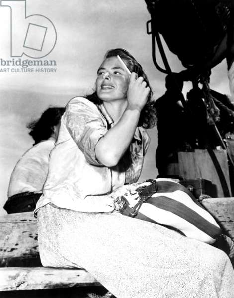 Ingrid Bergman: STROMBOLI, Ingrid Bergman, on location, 1950
