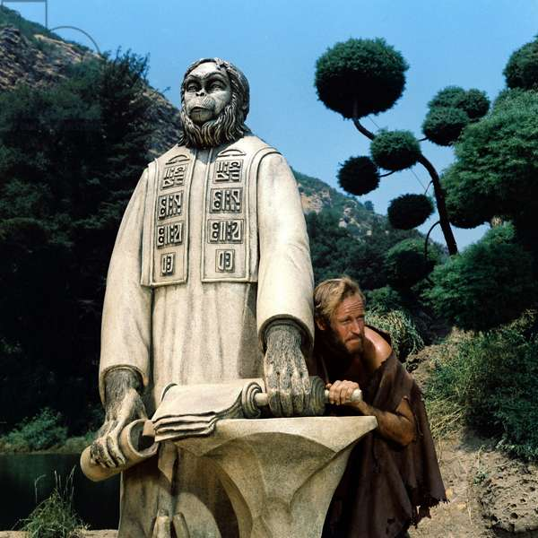 PLANET OF THE APES, Charlton Heston, 1968, TM & Copyright (c) 20th Century Fox Film Corp. All rights reserved.