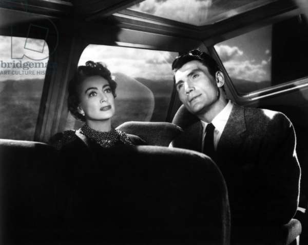 SUDDEN FEAR, Joan Crawford, Jack Palance, 1952.
