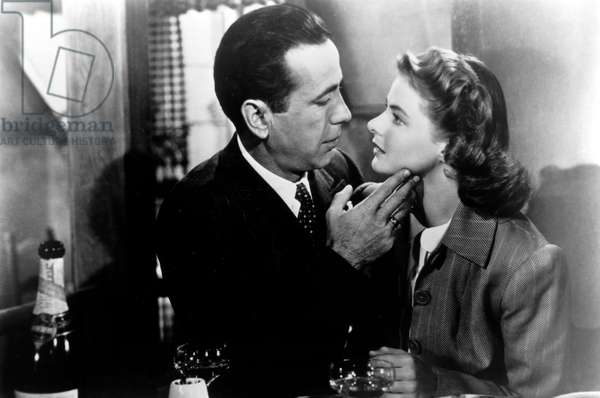 Casablanca: CASABLANCA, Humphrey Bogart, Ingrid Bergman, 1942.