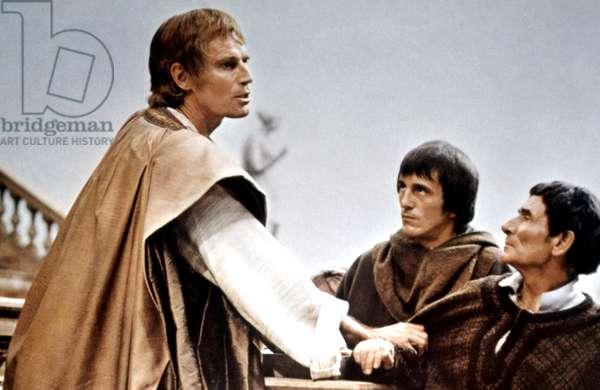 JULIUS CAESAR, Charlton Heston, 1970