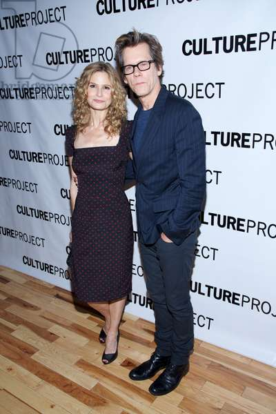 Kyra Sedgwick, Kevin Bacon at arrivals for 2013 Culture Project Gala for Lynn Redgrave Theater Opening, Stage 48, New York, NY June 3, 2013. Photo By: Andres Otero/Everett Collection