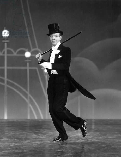 Top Hat, Fred Astaire, 1935 (b/w photo)