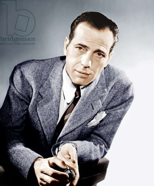 Humphrey Bogart, Warner Brothers portrait, ca. 1943