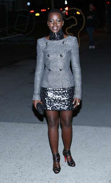 Lupita Nyong'o at arrivals for The Museum of Modern Art Film Benefit: A Tribute to Tilda Swinton, MoMA Museum of Modern Art, New York, NY November 5, 2013. Photo By: Andres Otero/Everett Collection