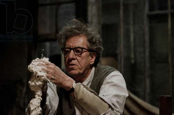 FINAL PORTRAIT, Geoffrey Rush as Alberto Giacometti, 2017. ph: Parisa Taghizadeh / © Sony Pictures Classics / courtesy Everett Collection