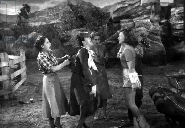 THE WOMEN, Norma Shearer, Rosalind Russell, Joan Fontaine, Paulette Goddard, 1939