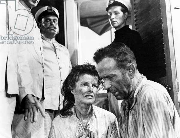The African Queen, Katharine Hepburn, Humphrey Bogart, 1951