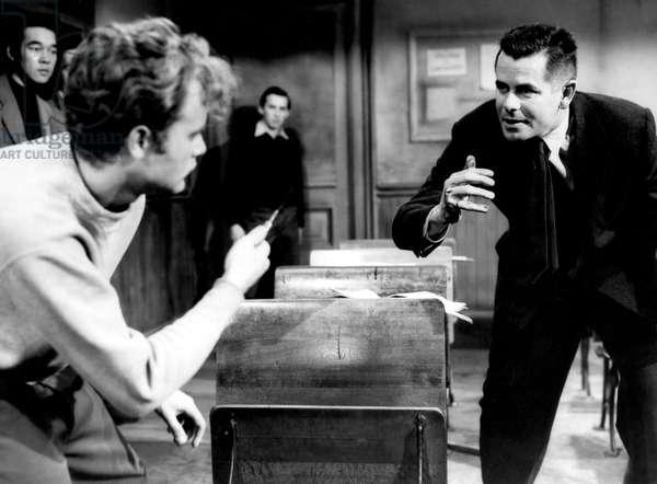 BLACKBOARD JUNGLE, Vic Morrow, Glenn Ford, 1955