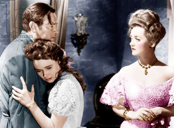 THE LITTLE FOXES, from left: Herbert Marshall, Teresa Wright, Bette Davis, 1941