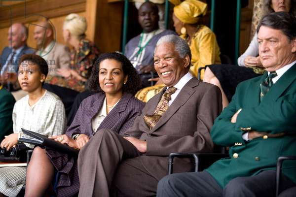 INVICTUS, Morgan Freeman as Nelson Mandela (second from right), 2009. ©Warner Bros./courtesy Everett Collection