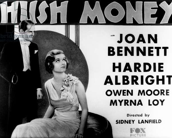 HUSH MONEY: HUSH MONEY, from left: Hardie Albright, Joan Bennett, 1931, TM & Copyright © 20th Century Fox Film Corp./courtesy Everett Collection