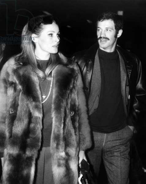 Ursula Andress, Jean Paul Belmondo, 1973