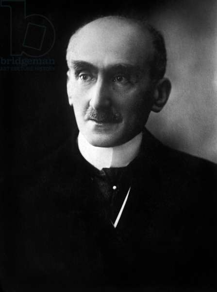 Henri Bergson: Henri Bergson, (1859-1941) French philosopher who won the Nobel Prize for Literature in 1927. 1925 photo by Henri Manuel.