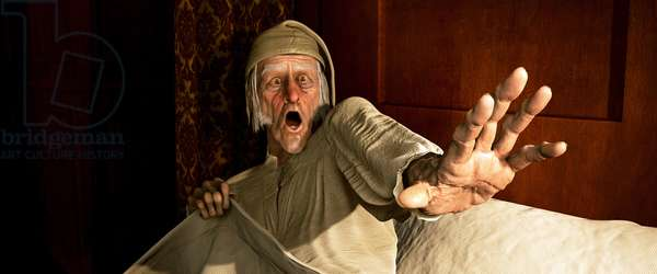 Le Drole de Noel de Scrooge: A CHRISTMAS CAROL, Jim Carrey, 2009. Ph: John Bramley/©Walt Disney Studios Motion Pictures/Courtesy Everett Collection