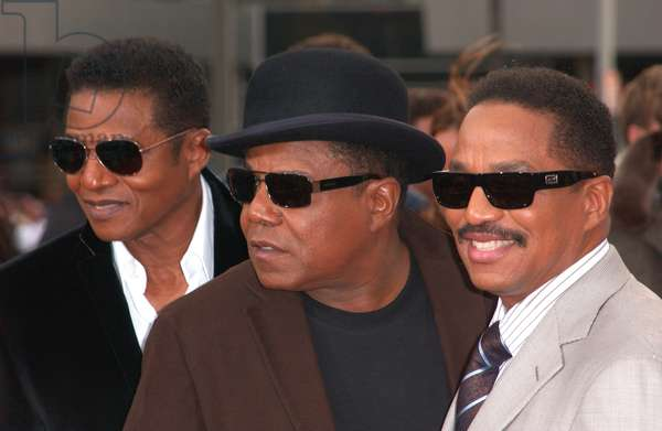 Randy Jackson, Marlon Jackson, Tito Jackson at arrivals for Michael Jackson's THIS IS IT Premiere, Nokia Theatre L.A. LIVE, Los Angeles, CA October 27, 2009. Photo By: Tony Gonzalez/Everett Collection