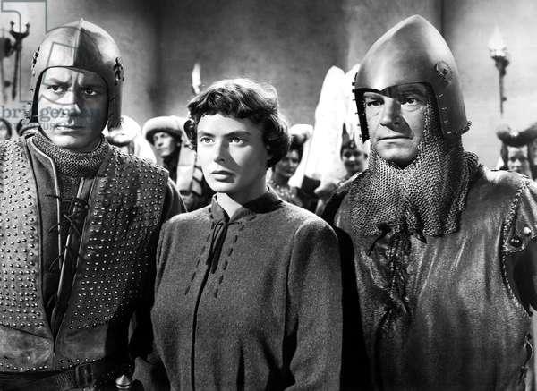 JOAN OF ARC, Ingrid Bergman (center), 1948