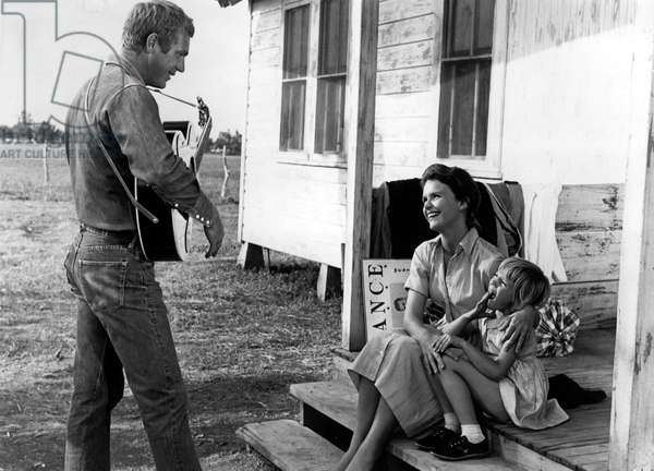 BABY THE RAIN MUST FALL, Steve McQueen, Lee Remick, Kimberly Block, 1965