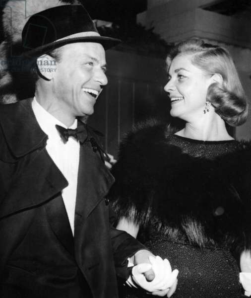 FRANK SINATRA and LAUREN BACALL, 1958