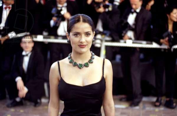 Salma Hayek at Cannes Film Festival, 1998, by Thierry Carpico