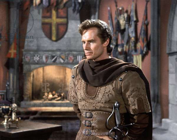 EL CID, Charlton Heston, 1961.