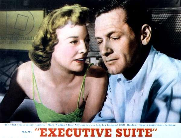 EXECUTIVE SUITE, June Allyson, William Holden, 1954