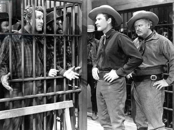 Les Conquerants: DODGE CITY, Guinn Williams, Errol Flynn, Alan Hale Sr., 1939