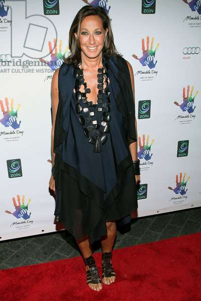 Donna Karan at arrivals for Mandela Day Gala Dinner Fundraiser for the Nelson Mandela Foundation, Grand Central Terminal, New York, NY July 15, 2009. Photo By: Jay Brady/Everett Collection