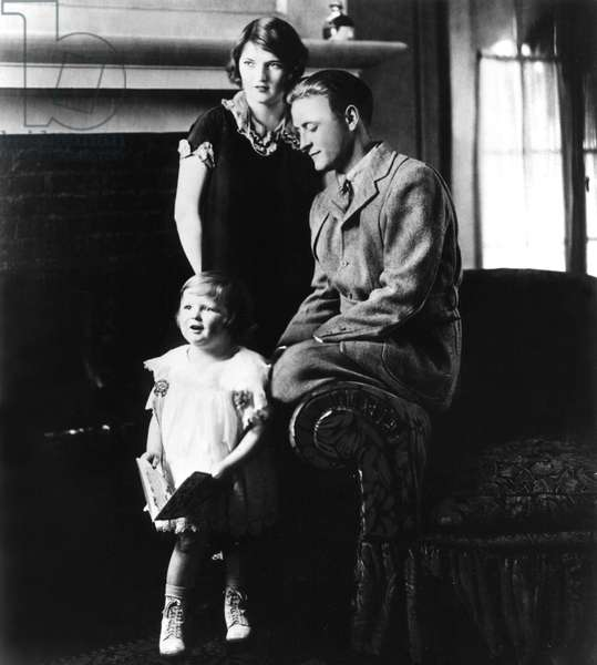 Scottie Fitzgerald, Zelda Fitzgerald, F. Scott Fitzgerald, 1927