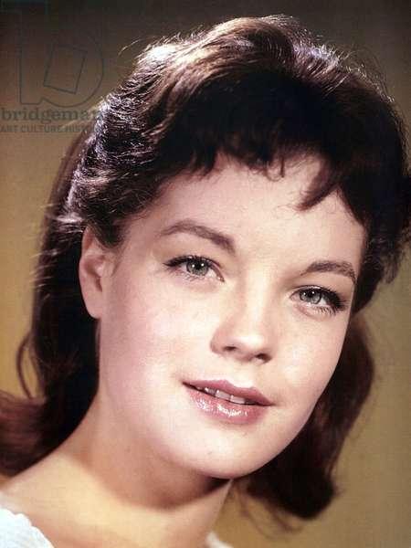 Romy Schneider, 1950s