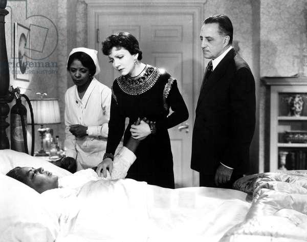 IMITATION OF LIFE, Louise Beavers, Claudette Colbert, Henry Kolker, 1934