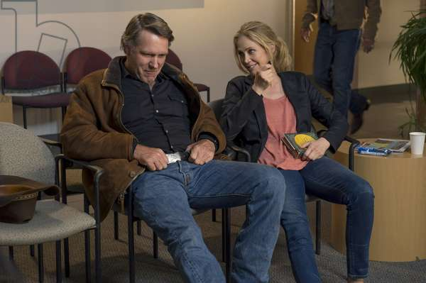 LONGMIRE, (from left): Robert Taylor, Ally Walker, (Season 4, airs Sept. 10, 2015). photo: Ursula Coyote / ©Netflix / courtesy Everett Collection