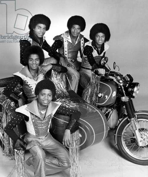 THE JACKSONS, Randy Jackson, Marlon Jackson, Tito Jackson, Jackie Jackson, Michael Jackson, (01/14/77), 1976-77,