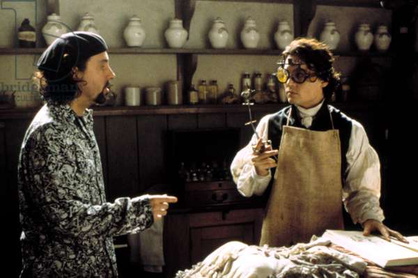 SLEEPY HOLLOW, Tim Burton, Johnny Depp, 1999
