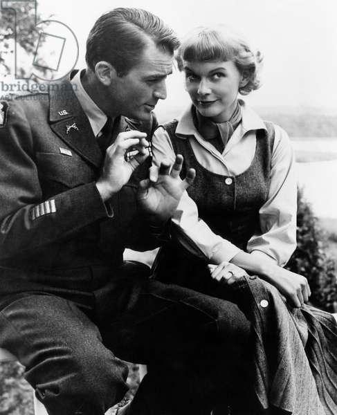 NIGHT PEOPLE, Gregory Peck, Anita Bjork, 1954, (c) 20th Century Fox, TM & Copyright / Courtesy: Everett Collection