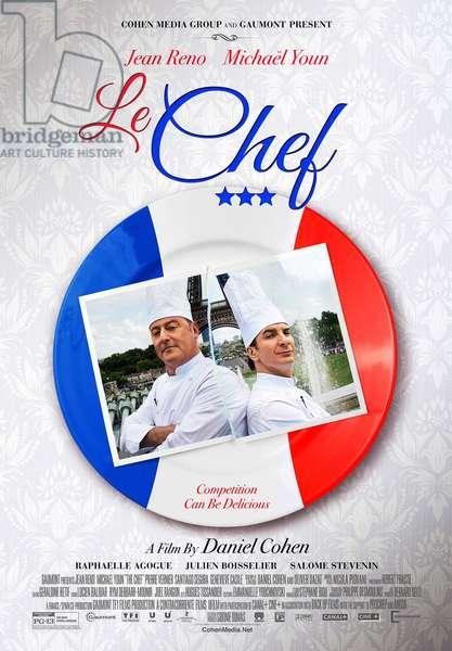 Comme un Chef: LE CHEF, (aka THE CHEF, aka COMME UN CHEF), US poster art, from left: Jean Reno, Michael Youn, 2012. ©Cohen Media Group/Courtesy Everett Collection