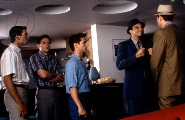 CALENDAR GIRL, Jerry O'Connell, Gabriel Olds, Jason Priestley, Kurt Fuller, Stephen Tobolowsky, 1993, (c)Columbia Pictures/courtesy Everett Collection