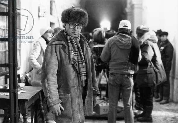 Amadeus: AMADEUS, director Milos Forman, on-set, 1984, ©Orion Pictures/courtesy Everett Collection