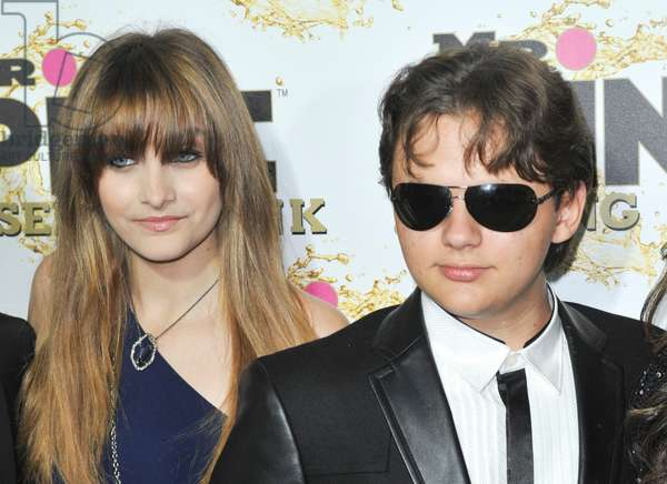Paris et Prince Michael Jackson: Paris Jackson at arrivals for Mr. Pink Ginseng Drink Launch Party, The Blvd at Regent Beverly Wilshire Hotel, Beverly Hills, CA October 11, 2012. Photo By: Elizabeth Goodenough/Everett Collection